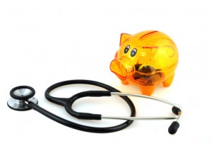 piggy bank and health