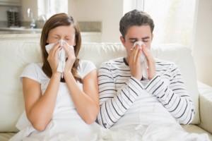 Sick couple
