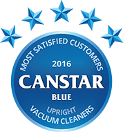 2016 Award for upright vacuum cleaners