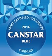 2016 award for yoghurt