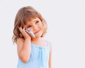 Little girl phone