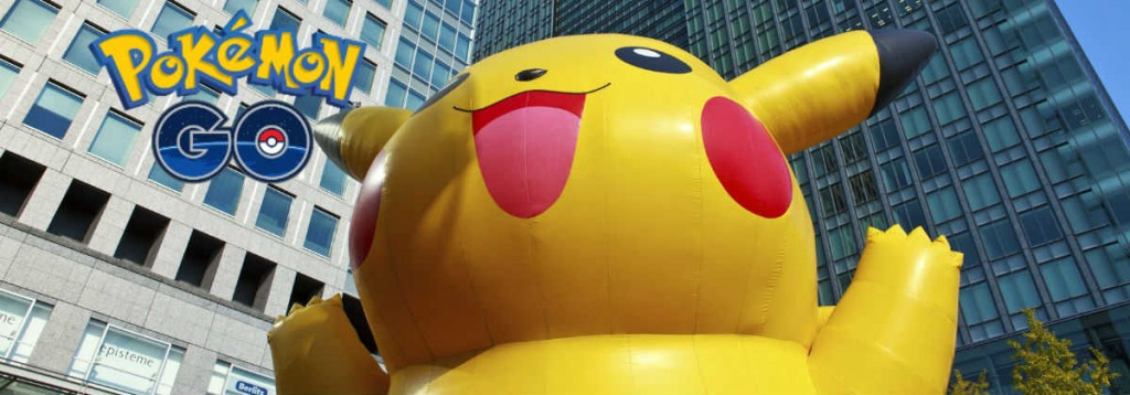 Giant inflatable pikachu - Pokemon Go (1)