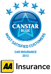 Most Satisfied Customers - Car Insurance, New Zealand - 2013