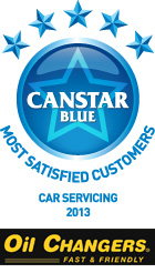 Most Satisfied Customers: Car Servicing (2013)