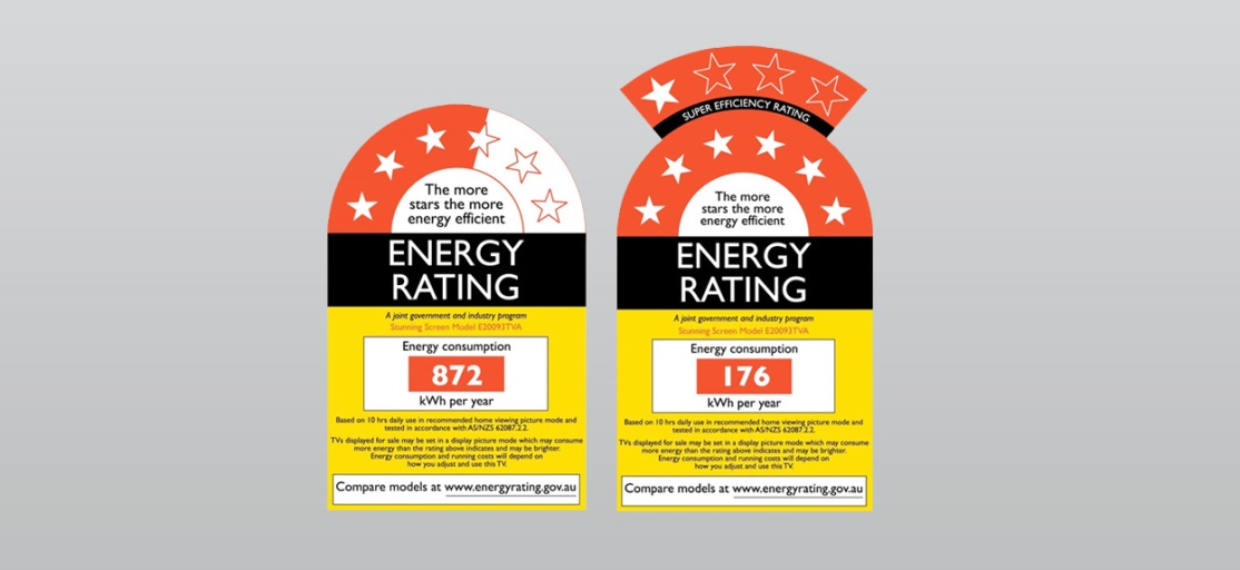australia and new zealand rating label