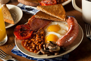 Can a fry up cure a hangover?