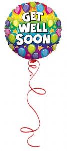 get well soon balloon