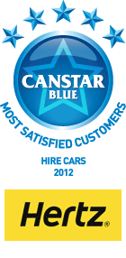 Most Satisfied Customers - Hire Cars, 2012