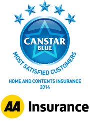 Home and Contents Insurance - 2014 Award Winner