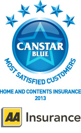 Most Satisfied Customers - Home & Contents Insurance, 2013