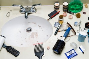 When It Comes To Annoying Bathroom Habits, There Are Two Things That Tie  For First Place: People Urinating On The Toilet Seat And Hair In Plugholes.