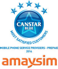 amaysim: 2014 award winner for prepaid phone plans
