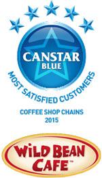 Wild Bean Achieve 2015 Coffee Shops Award