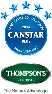 Thompson's: 2014 Multivitamins Award Winner, NZ