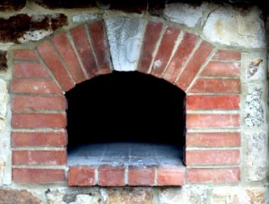 old oven