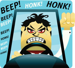 Have you suffered road rage?