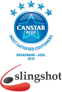 Slingshot Win Broadband 2015 Award