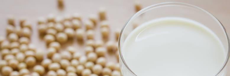 soy milk banner
