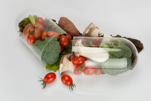 vitamins vegies in capsule